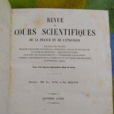 Libros antiguos: 1870. TOMO REVISTA DE DIVULGACIÓN CIENTÍFICA DE FRANCIA Y EL EXTRANJERO.. Lote 226849211