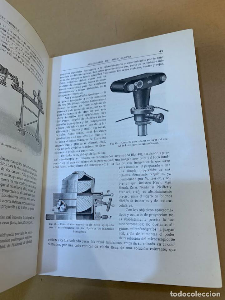 Libros antiguos: RAMON Y CAJAL / TELLO Y MUÑOZ / ELEMENTOS DE HISTOLOGIA NORMAL Y DE TECNICA MICROGRAFICA - Foto 8 - 227193620