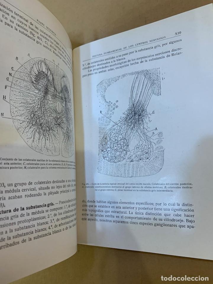 Libros antiguos: RAMON Y CAJAL / TELLO Y MUÑOZ / ELEMENTOS DE HISTOLOGIA NORMAL Y DE TECNICA MICROGRAFICA - Foto 14 - 227193620