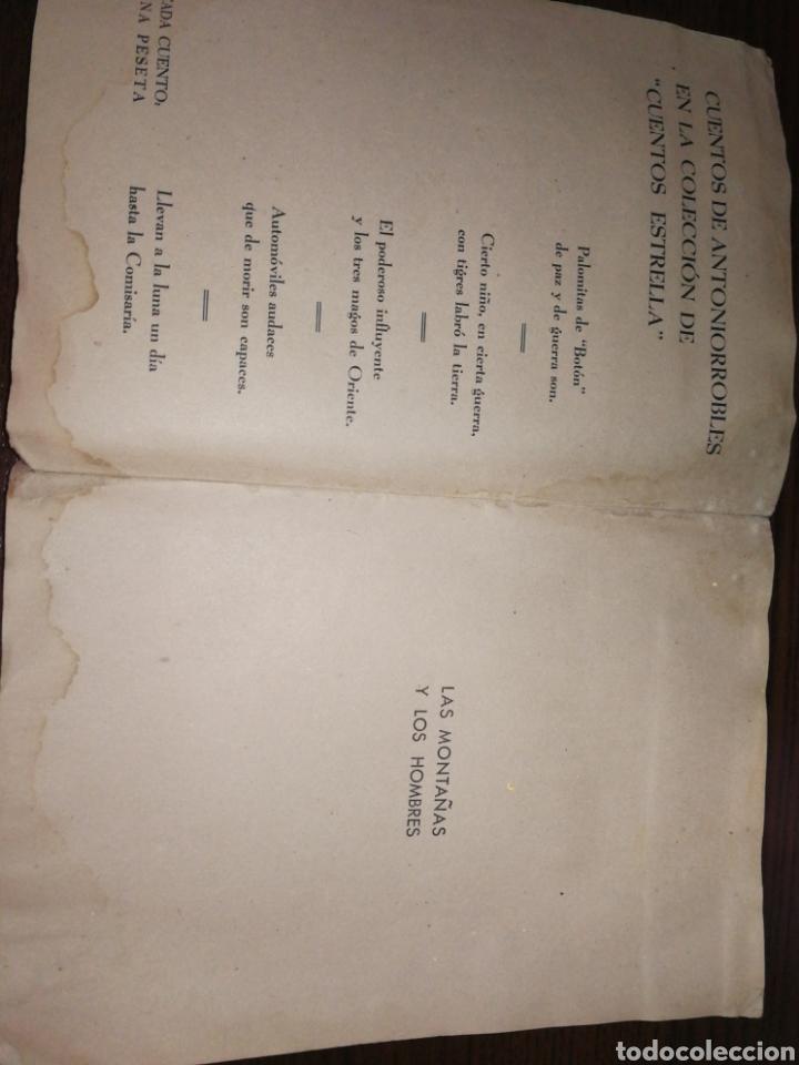 Libros antiguos: AÑO 1937,LAS MONTAÑAS Y LOS HOMBRES. - Foto 2 - 227804655