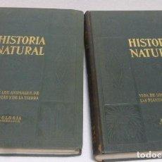 Libros antiguos: HISTORIA NATURAL...DOS TOMOS. ZOOLOGIA VERTEBRADOS E INVERTEBRADOS..INSTITUTO GALLACH...AÑO 1925. Lote 230292750
