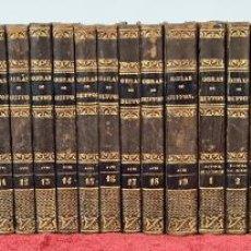 Libros antiguos: OBRAS COMPLETAS DE BUFFON. 32 VOLÚMENES. CUVIER. IMP. RIVADENEYRA. 1832/1835.. Lote 230482445