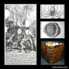 Livros antigos: AÑO 1732 RARA SEGUNDA EDICIÓN ABEJAS BOTÁNICA HISTORIA NAT. ESPECTÁCULO DE LA NATURALEZA GRABADOS. Lote 234408720