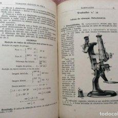Libros antiguos: TRABALHOS PRÁTICOS DE FÍSICA. POR H. AMORIM FERREIRA, 1929. ILUSTRADO. EN PORTUGUÉS.. Lote 234466385