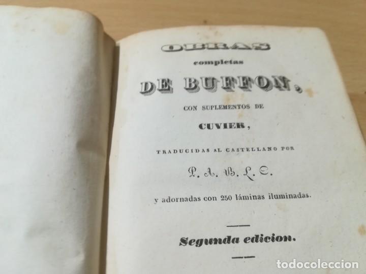 Libros antiguos: OBRAS COMPLETAS DE BUFFON / XXXIX HISTORIA DE LAS AVES / 1841 BERGNES Y Cª BARCELONA / F207 - Foto 5 - 234797835
