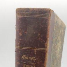Libros antiguos: TRATADO ELEMENTAL DE FÍSICA EXPERIMENTAL Y APLICADA Y DE METEOROLOGÍA. MADRID 1859.. Lote 235052875