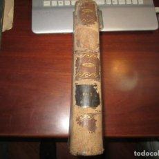 Libros antiguos: EL UNIVERSO O LAS OBRAS DE DIOS FRANCISCO FERNANDEZ VILLABRILLE 1854 MADRID TOMO I-II. Lote 235605125