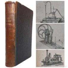 Libros antiguos: 1883 - LIBRO ANTIGUO DE FÍSICA EXPERIMENTAL Y APLICADA - ILUSTRADO CON 553 GRABADOS - CIENCIAS. Lote 235836900