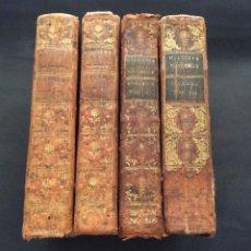 Libros antiguos: 1781 -HISTOIRE NATURELLE DES OISEAUX 1781- BUFFON - ILUSTRADO CON - GRABADOS - ORNITOLOGÍA(4 TOMOS). Lote 235942705