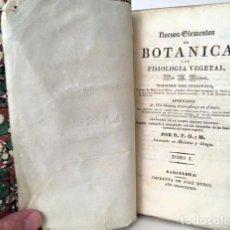 Libros antiguos: NUEVOS ELEMENTOS DE BOTÁNICA Y DE FISIOLOGIA VEGETAL. (1839) RICHARD. 164 FIGURAS. Lote 236066915
