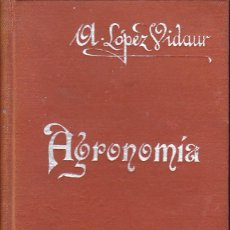 Libros antiguos: MANUAL DE AGRONOMIA. Lote 236318130