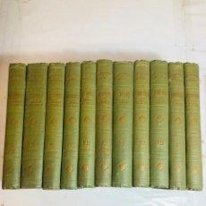 Libros antiguos: ZOOLOGIA, ANTROPOLOGIA Y BOTANICA - C. CLAUS 11 TOMOS OBRA COMPLETA 1890/96, MAS DE 5.000 GRABADOS. Lote 236699620