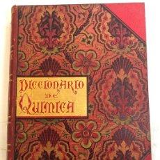 Libros antiguos: DICCIONARIO DE QUIMICA - EMILIO BOUANT, 2 TOMOS 1888, ILUSTRADO CON 700 GRABADOS. Lote 237079525