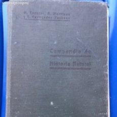 Libros antiguos: LIBRO. COMPENDIO DE HISTORIA NATURAL. MADRID. 1919. Lote 239473355