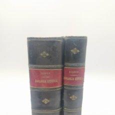 Libros antiguos: ZOOLOGÍA GENERAL ANIMALES VERTEBRADOS E INVERTEBRADOS ALBERTO DE SEGOVIA Y CORRALES 1899. Lote 240465865