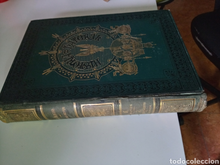 Libros antiguos: La Creacion Historia Natural 1880. Dr. A. E. Brehm. 7 volumenes . - Foto 16 - 240660865