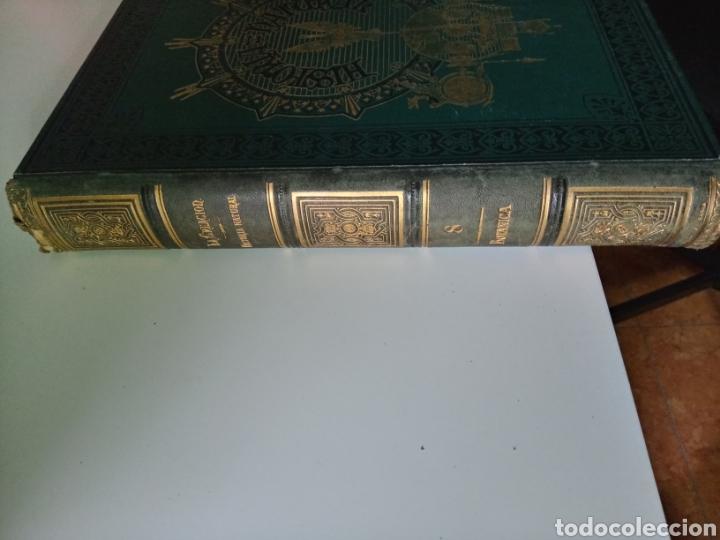 Libros antiguos: La Creacion Historia Natural 1880. Dr. A. E. Brehm. 7 volumenes . - Foto 18 - 240660865