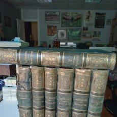 Libros antiguos: LA CREACION HISTORIA NATURAL 1880. DR. A. E. BREHM. 7 VOLUMENES .. Lote 240660865