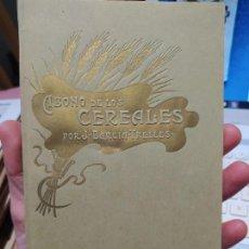 Livros antigos: ABONO DE LOS CEREALES, J. BARCIA. CENTRO DE ESTACIONES DE ABONOS, MADRID. 1909. Lote 240910620