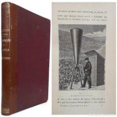 Libros antiguos: 1900 - CIENCIAS - TORMENTAS DE GRANIZO - METEOROLOGÍA - CAÑONES GRANÍFUGOS - ILUSTRADO CON GRABADOS. Lote 243148065
