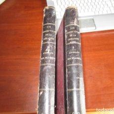 Libros antiguos: LOS SERES VIVOS DE LA CREACION W.P.PYCRAFT 1902 MADRID TOMO 2-3 ANIMALES DEL PLANETA. Lote 243187830