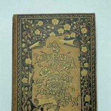 Libros antiguos: CARLOS MENDOZA. LA LEYENDA DE LAS PLANTAS. 1889. Lote 243534720