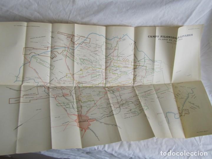 Libros antiguos: The Metalliferous deposits of Linares and Huelva 1926 XIV International Geological Congress, Calleja - Foto 8 - 243849085