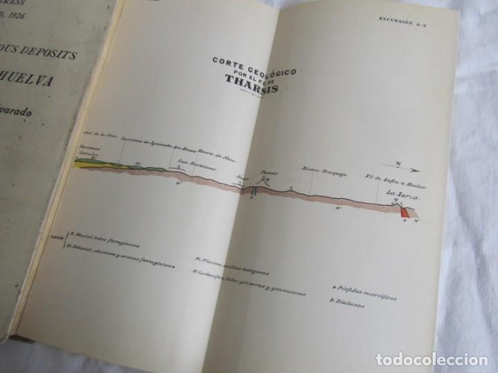 Libros antiguos: The Metalliferous deposits of Linares and Huelva 1926 XIV International Geological Congress, Calleja - Foto 9 - 243849085