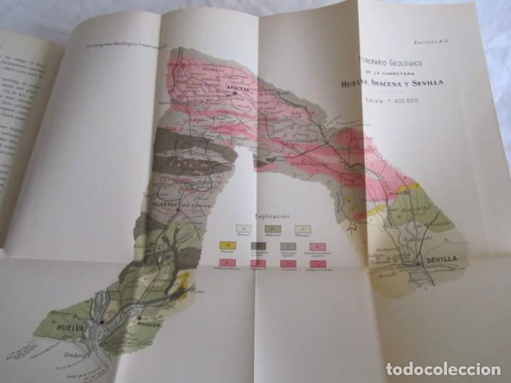 Libros antiguos: The Metalliferous deposits of Linares and Huelva 1926 XIV International Geological Congress, Calleja - Foto 10 - 243849085