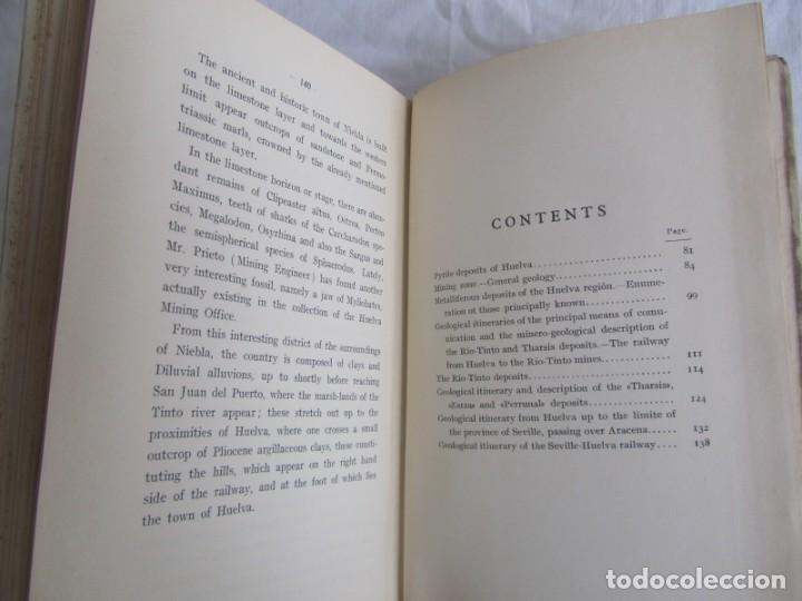 Libros antiguos: The Metalliferous deposits of Linares and Huelva 1926 XIV International Geological Congress, Calleja - Foto 12 - 243849085