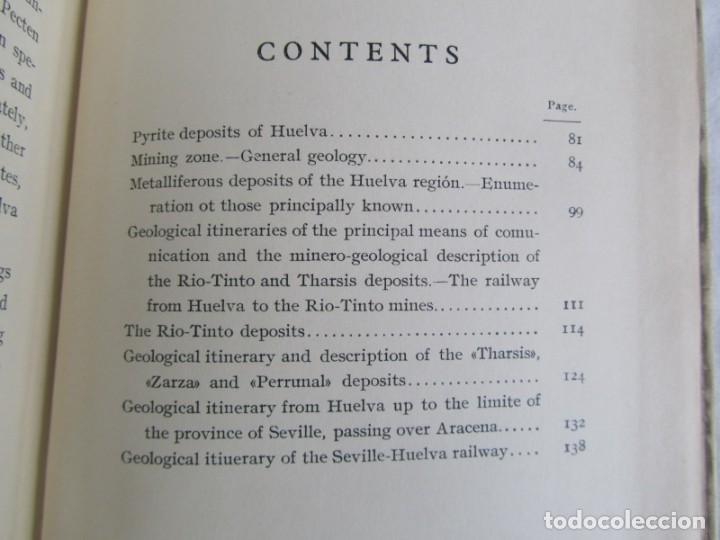Libros antiguos: The Metalliferous deposits of Linares and Huelva 1926 XIV International Geological Congress, Calleja - Foto 13 - 243849085