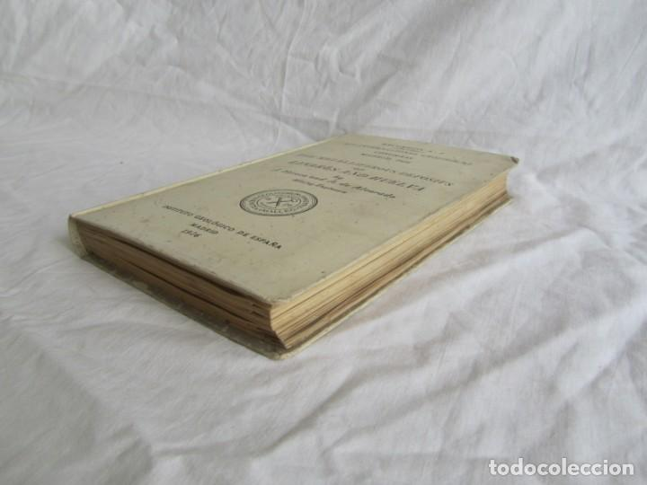 Libros antiguos: The Metalliferous deposits of Linares and Huelva 1926 XIV International Geological Congress, Calleja - Foto 14 - 243849085
