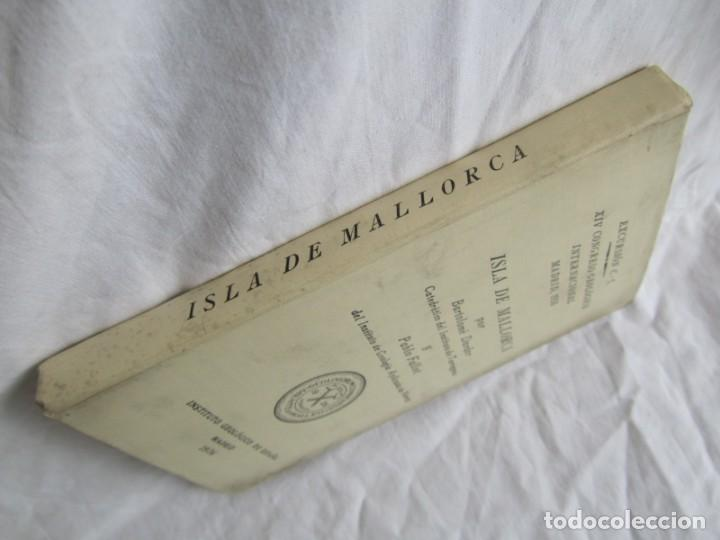 Libros antiguos: Isla de Mallorca, Excursiones del XIV Congreso Geológico Internacional 1926, Encuadernación Calleja - Foto 4 - 243849260