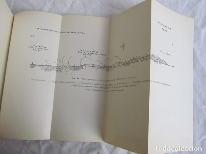 Libros antiguos: Isla de Mallorca, Excursiones del XIV Congreso Geológico Internacional 1926, Encuadernación Calleja - Foto 8 - 243849260