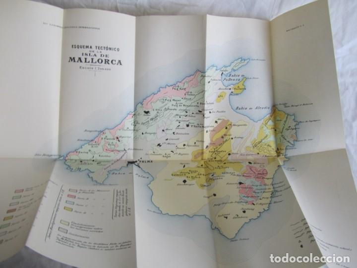 Libros antiguos: Isla de Mallorca, Excursiones del XIV Congreso Geológico Internacional 1926, Encuadernación Calleja - Foto 9 - 243849260