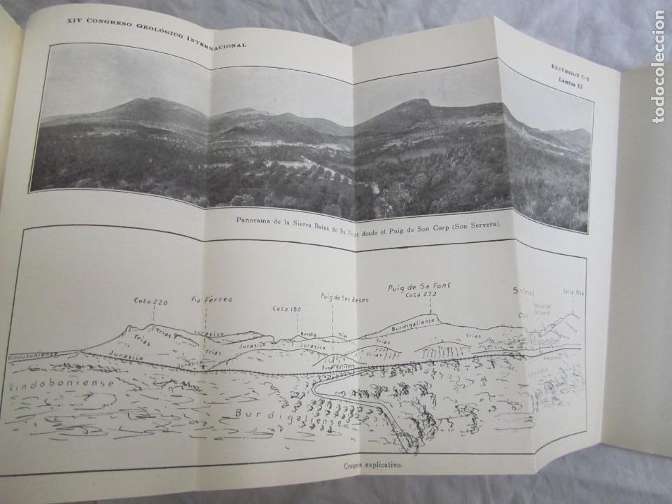 Libros antiguos: Isla de Mallorca, Excursiones del XIV Congreso Geológico Internacional 1926, Encuadernación Calleja - Foto 11 - 243849260