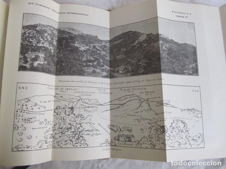 Libros antiguos: Isla de Mallorca, Excursiones del XIV Congreso Geológico Internacional 1926, Encuadernación Calleja - Foto 12 - 243849260