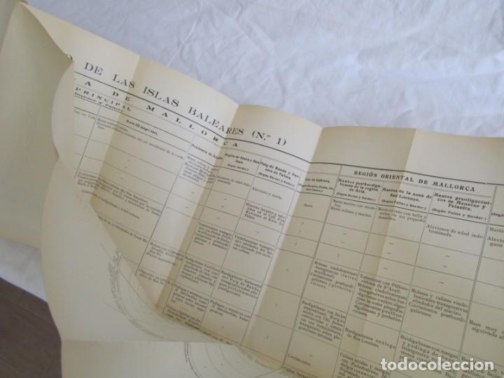 Libros antiguos: Isla de Mallorca, Excursiones del XIV Congreso Geológico Internacional 1926, Encuadernación Calleja - Foto 13 - 243849260