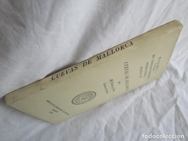 Libros antiguos: Cuevas de Mallorca Excursiones del XIV Congreso Geológico Internacional 1926, Encuadernación Calleja - Foto 3 - 243849370