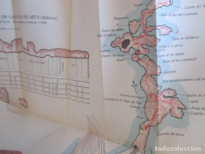 Libros antiguos: Cuevas de Mallorca Excursiones del XIV Congreso Geológico Internacional 1926, Encuadernación Calleja - Foto 8 - 243849370