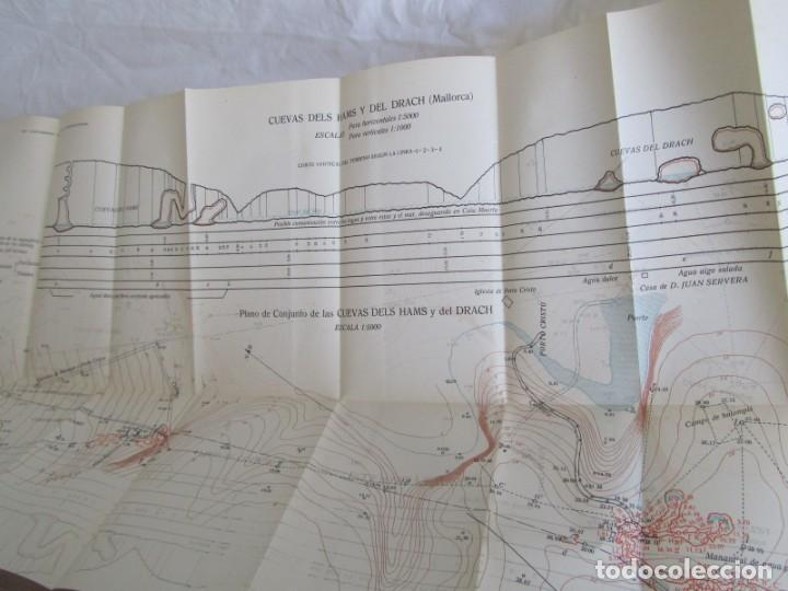 Libros antiguos: Cuevas de Mallorca Excursiones del XIV Congreso Geológico Internacional 1926, Encuadernación Calleja - Foto 9 - 243849370