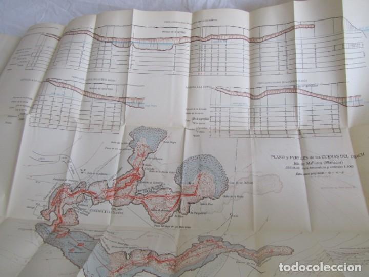 Libros antiguos: Cuevas de Mallorca Excursiones del XIV Congreso Geológico Internacional 1926, Encuadernación Calleja - Foto 10 - 243849370