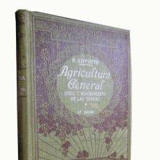 Libri antichi: AGRICULTURA GENERAL. SUELO Y MEJORAMIENTO DE LAS TIERRAS. 1928 DIFFLOTH PABLO. Lote 3520891