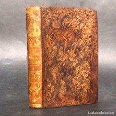 Libros antiguos: 1852 - REFLEXIONES SOBRE LA NATURALEZA - VOLCANES - NACIMIENTO - MEDICINA - PLENA PIEL. Lote 259881565