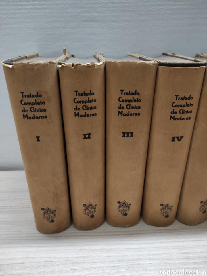 Libros antiguos: Tratado Completo de Clínica Moderna. Dr. Jorge Klemperer. Manuel Marín 1933. 7 tomos + apéndice 1935 - Foto 2 - 244428240