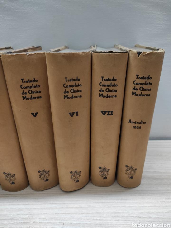 Libros antiguos: Tratado Completo de Clínica Moderna. Dr. Jorge Klemperer. Manuel Marín 1933. 7 tomos + apéndice 1935 - Foto 3 - 244428240