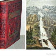 Libros antiguos: EL AGUA. PRECIOSO LIBRO ILUSTRADO EN COLOR. SIGLO XIX.. Lote 245071725