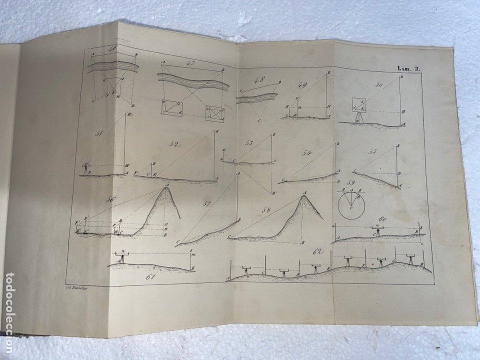Libros antiguos: Antiguo libro del tratado de trigonometría rectilínea y esférica del año 1854 una 3 edición - Foto 4 - 245412870