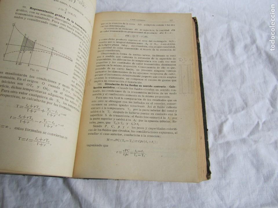 Libros antiguos: Calor, su estudio y aplicaciones industriales, José Mestres Gómez, 1905 - Foto 11 - 245454450
