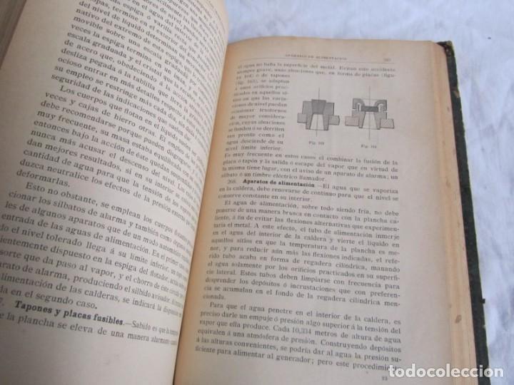 Libros antiguos: Calor, su estudio y aplicaciones industriales, José Mestres Gómez, 1905 - Foto 13 - 245454450